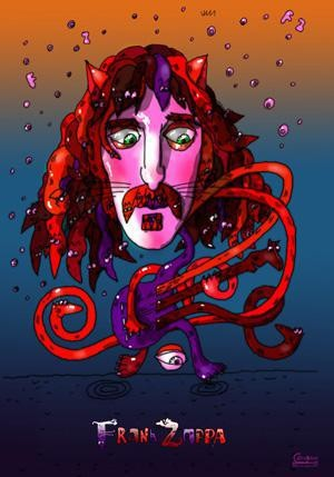 Poster Frank Vincent Zappa