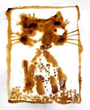 Poster The true story of Ethiopian Coffee-Cat